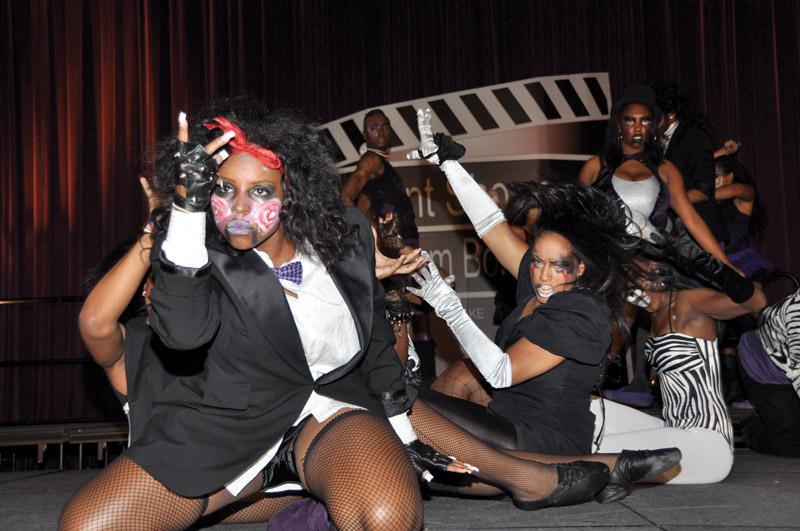 Black Reign, winner of the 8th annual Student Showcase performs their routine on Oct. 22. Photo Credit: Sami Eshaghi / Assistant Photo Editor