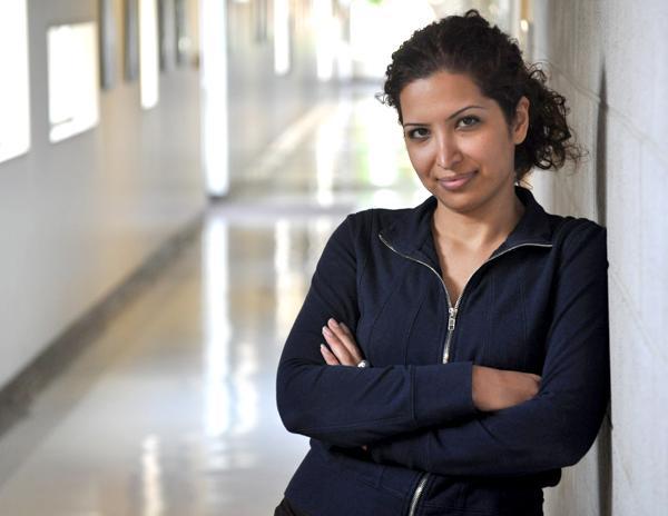 Esha Momeni. Photographed in Manzanita Hall, Thursday, Aug. 13, 2009. (Jonathan Pobre/Courtesy of the Daily Sundial)