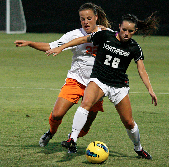 CSUN Defense Duels No. 22 Tennessee To Scoreless Draw