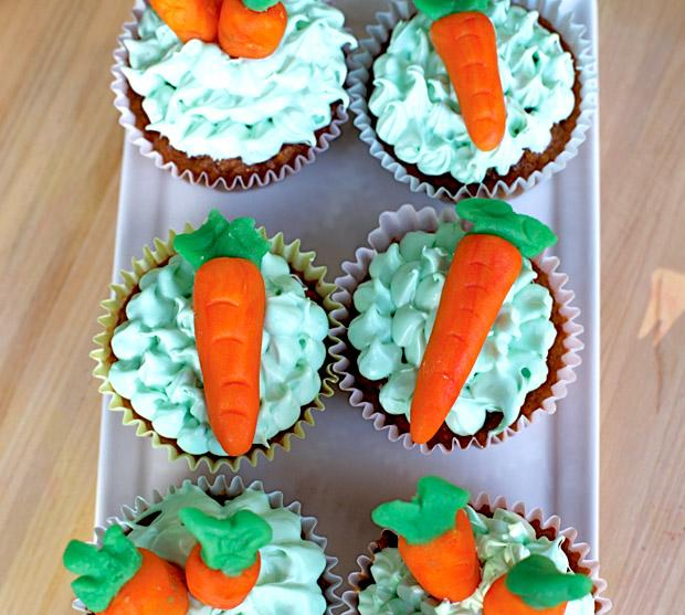 Spring is in the air and it is the perfect time to try this carrot cupcake recipe. Try to just eat one, I dare you. Brita Potenza / Daily Sundial