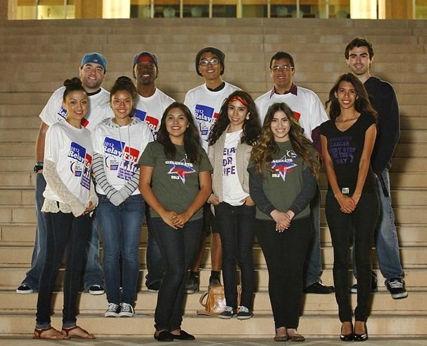 CSUN's College Against Cancer club will host the 8th annual Relay for Life fundraiser this Saturday, April 27. Courtesy of Alex Delgado