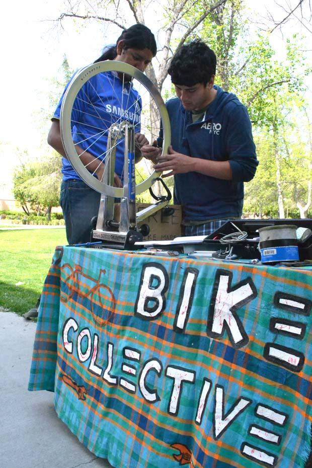 The CSUN Bike Collective has been involved with the creation of the Matador Bicycle Shop. The club already offers repair services and advice to students with bikes. File Photo / Daily Sundial