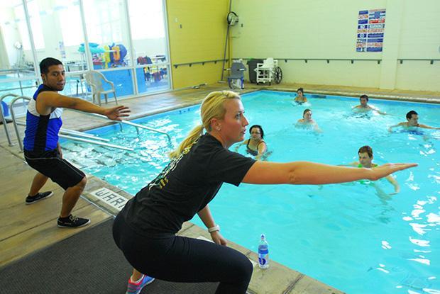 Brown Center celebrates 10 years of aquatic healing