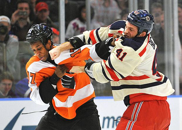 Flyers v Rangers