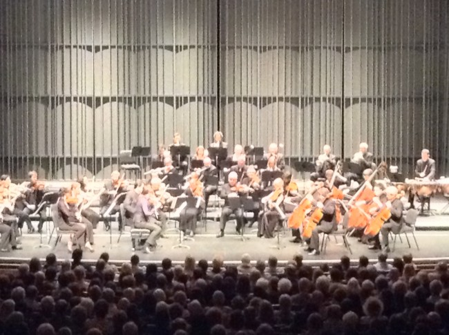 The Academy of St. Martin in the Fields orchestra played Thursday night in the VPAC. Photo by Dache Jackson
