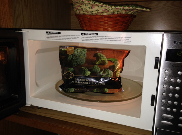 Many frozen vegetables come ready to cook in a microwaveable steam bag, which is a safe, nutritious, making this an easy way to include more veggies in your diet. Photo by Amanda Blake, contributor