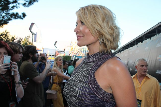 """McKenzie Westmore, host of SyFy's """"Face Off,"""" served as emcee for the evening as industry icons accepted their awards. Photo Credit: Demi Corso/The Sundial"""