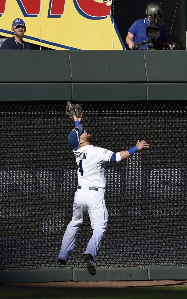Alex Gordon will have to continue his defensive efforts for the Royals outfield. Photo courtesy of Tribune News Service.