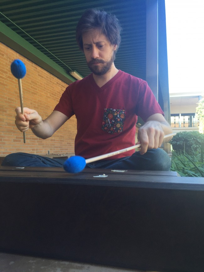 After Storniolo picked up the xylophone, percussion instruments have become his passion.