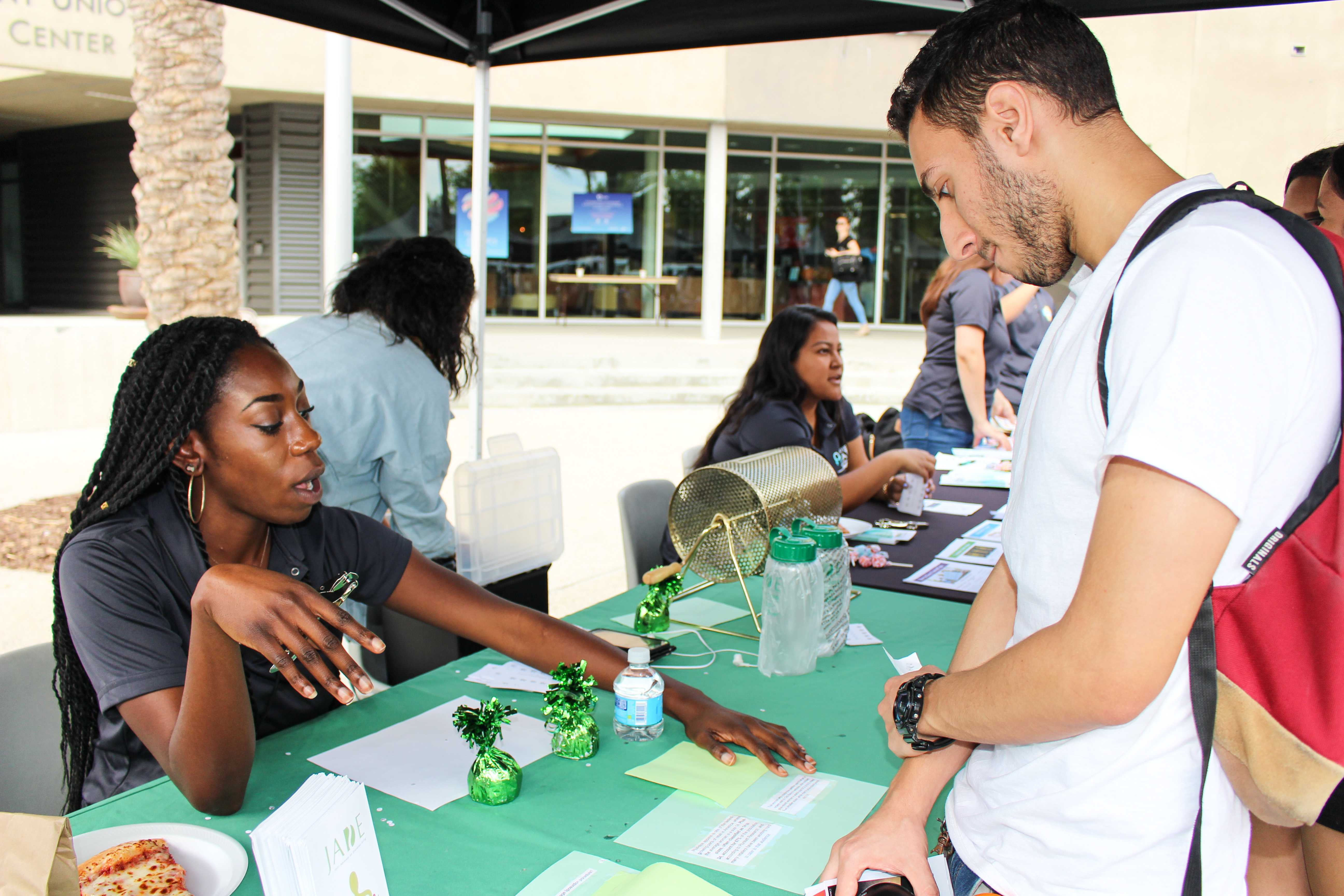 Blues Project Tabling Fair Advocates Mental Health Services The