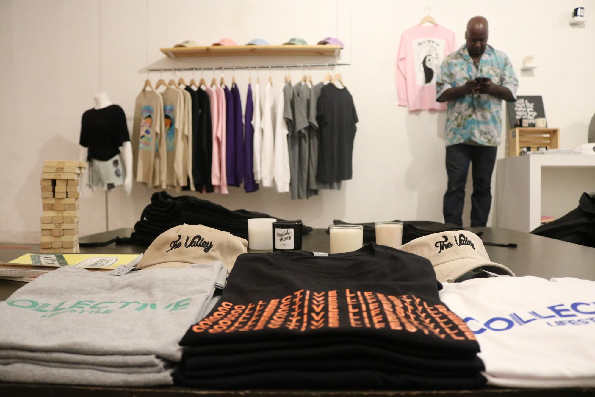 8519c7012eb23 Collective Lifestyle focuses on selling fashionable clothes for the youth  culture in the San Fernando Valley Photo credit  Kianna Hendricks