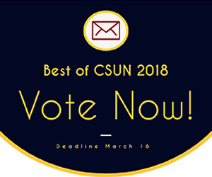 Ad for Best of CSUN Voting