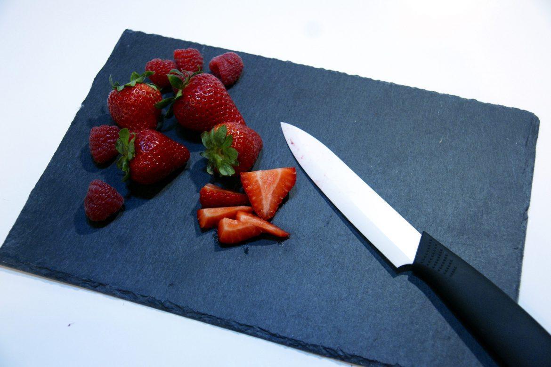 chopped berries
