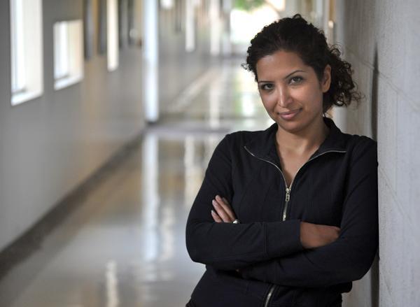 Esha Momeni is seen in Manzanita Hall, Thursday, Aug. 13, 2009.