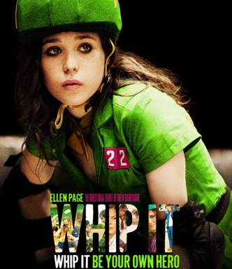 """Whip It,"" in theaters Oct. 2, is Drew Barrymore's directorial debut. Photo courtesy of Fox SearchLight pictures"