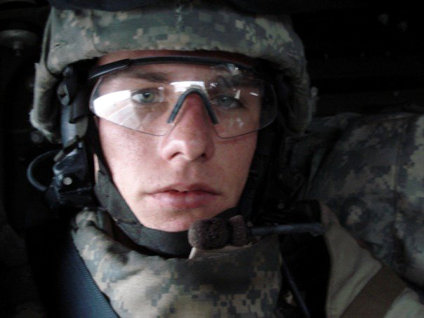 CSUN student Nicolaas Koppert copes with post-traumatic stress disorder (PTSD) after returning home from Iraq two years ago. Photo Courtesy of Nicolaas Koppert