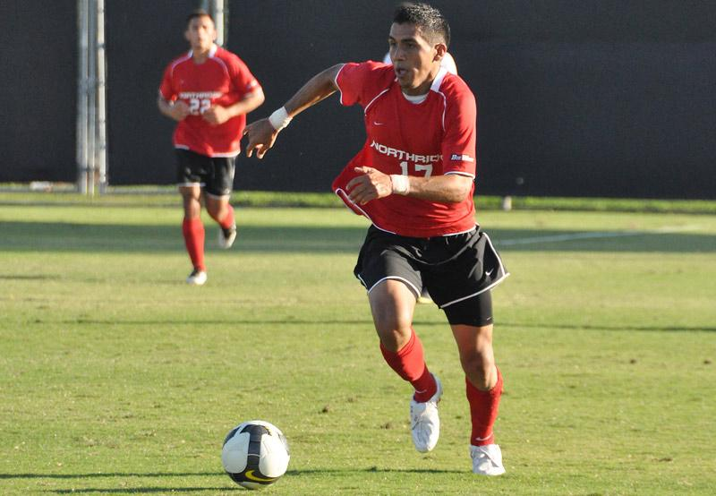 Midfielder Rene Anguiano is seen in Sunday's 1-0 win againts UCSB.