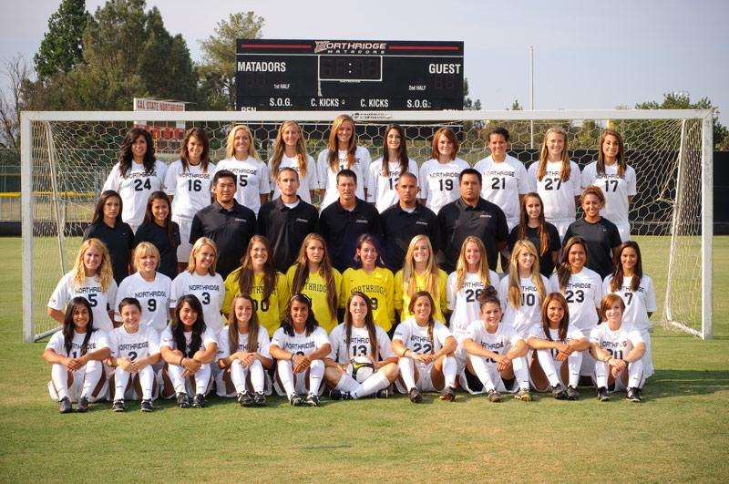 The Matador's season ended Thursday after losing to UCSB 2-1 in the semi-final game of the Big West Tournamenet. With almost every player returning another postseason run could be in store for CSUN. Photo Courtesy of CSUN Athletic Media Relations