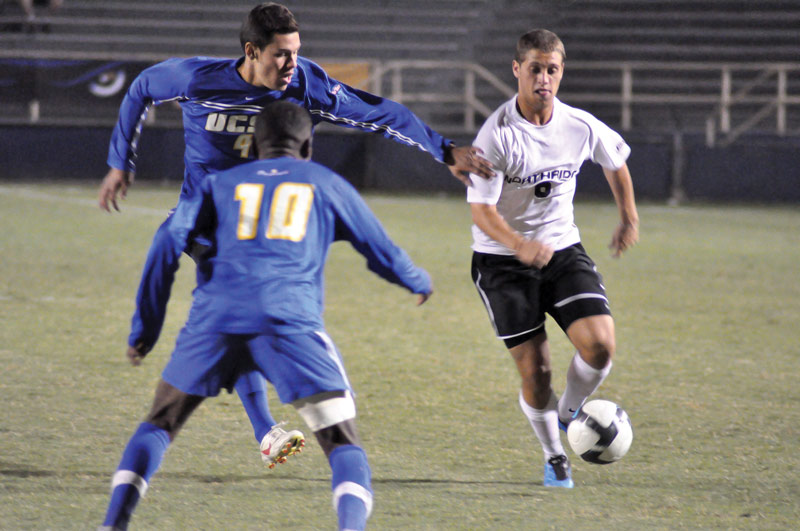 The Matadors lost for the second time season at Harder Staduim, 1-0, Wednesday night against UCSB. Photo Credit: Jonathan Pobre/ Executive Editor