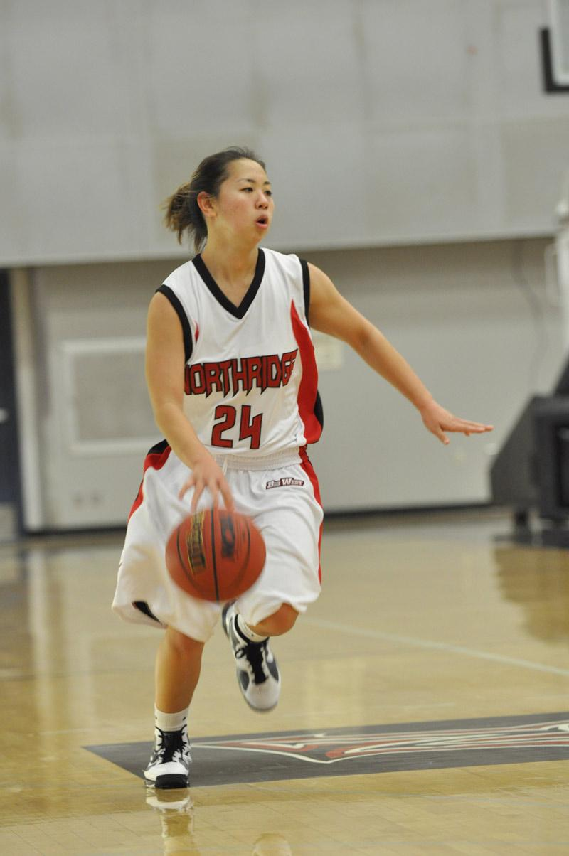Freshman Janelle  Nomura scored 15 points against the Spartans Friday night. Photo Credit: Sami Eshaghi / Assistant Photo Editor Photo