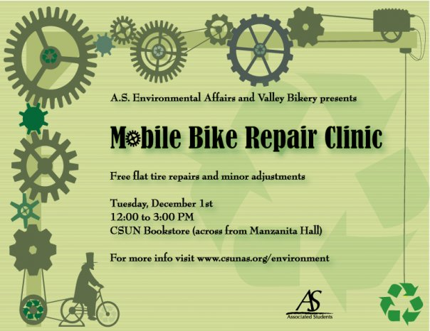 Mobile Bike Repair Clinic