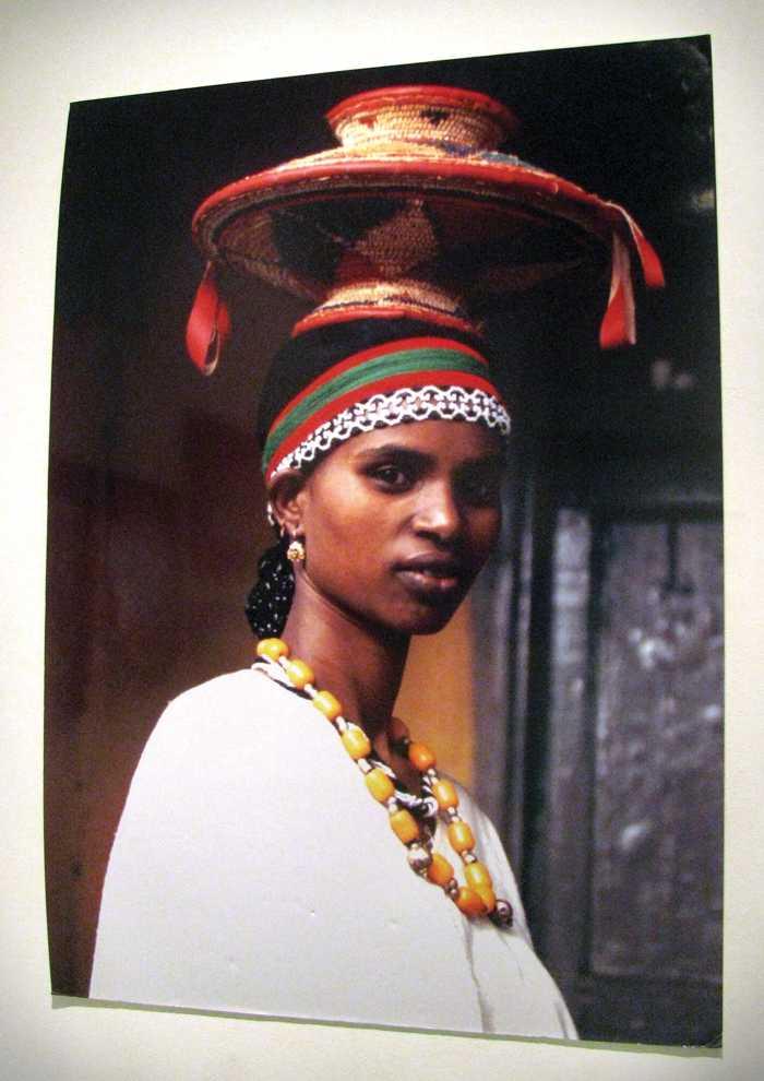 The photograph, taken by Art History Professor Dr. Peri Klemm, is part of the exhibit Bareedin: Women of Oromia. Photo Credit: Krista Daly / Senior Reporter