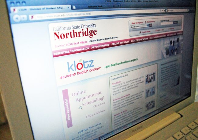 Klotz Student Health Center offers online appointments