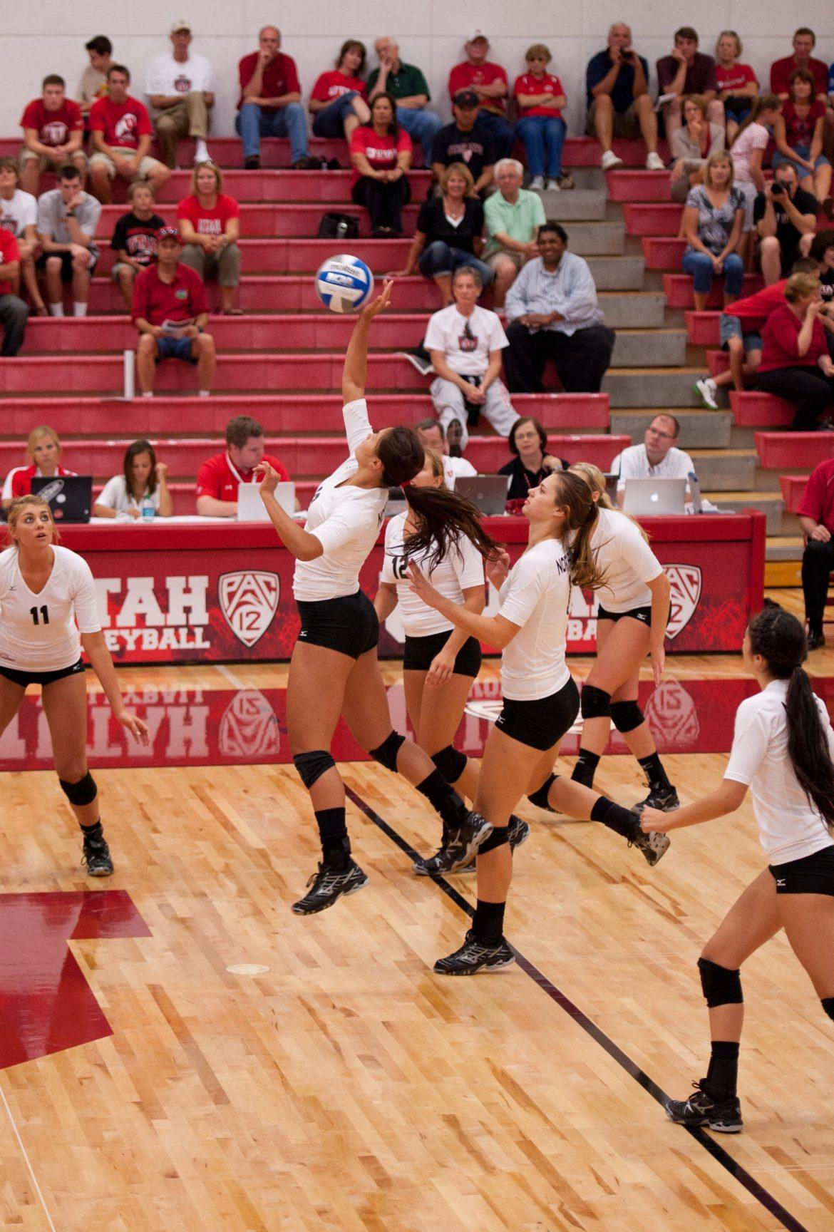 The Matadors, pictured here during one of their matches at the Utah Classic last weekend, will look to come out winners at Sacramento State. Courtesy of Julian Gomez/Daily Utah Chronicle.