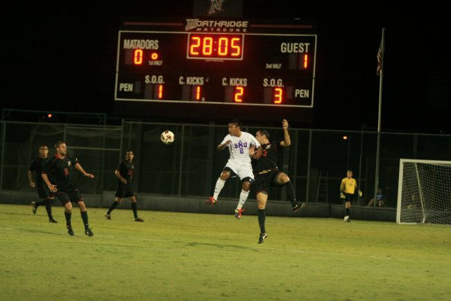 M-Soccer: Shorthanded Matadors beat at home again