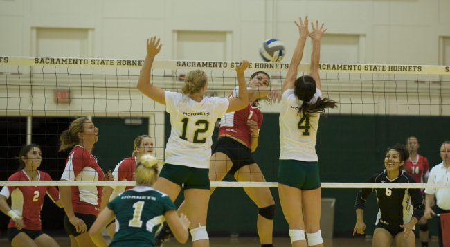 W-Vball: Matadors sweep Sac State Invitational