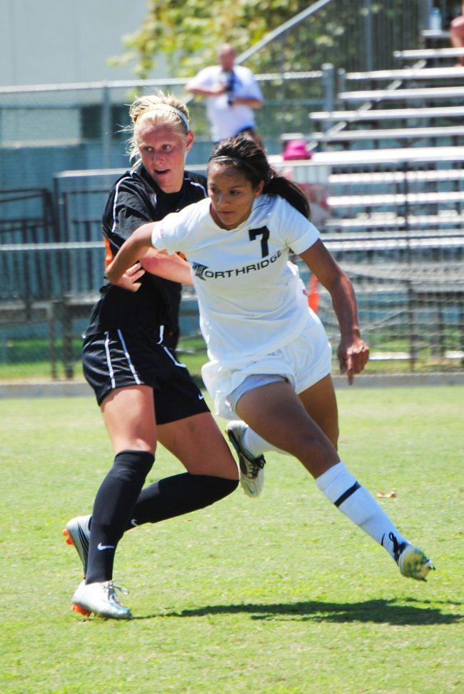 W-Soccer: CSUN finally back in action after long layoff