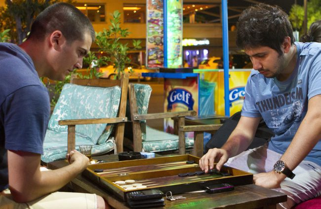 Backgammon is one of the oldest table-top board games, involving both luck and strategy. The board is not just a game or a souvenir from Istanbul. It also helped our traveler meet local people, understand the culture, and bond with the community. Photo Credit: Kat Russel / Daily Sundial