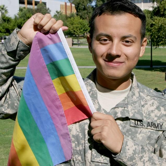 Cinema and television arts major Hugo Valencia, 21, has served with the U.S. Army National Guard for five years and will serve one more year. He kept his sexual orientation a secret until Don't Ask Don't Tell was repealed last year. Hansook Oh / Daily Sundial