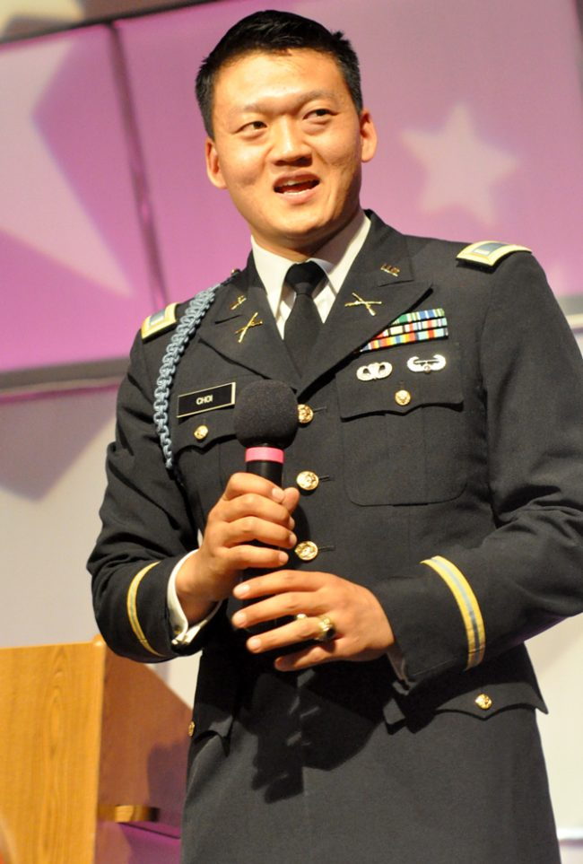 Army Lt. advocates equality for LGBTQ in presentation at CSUN