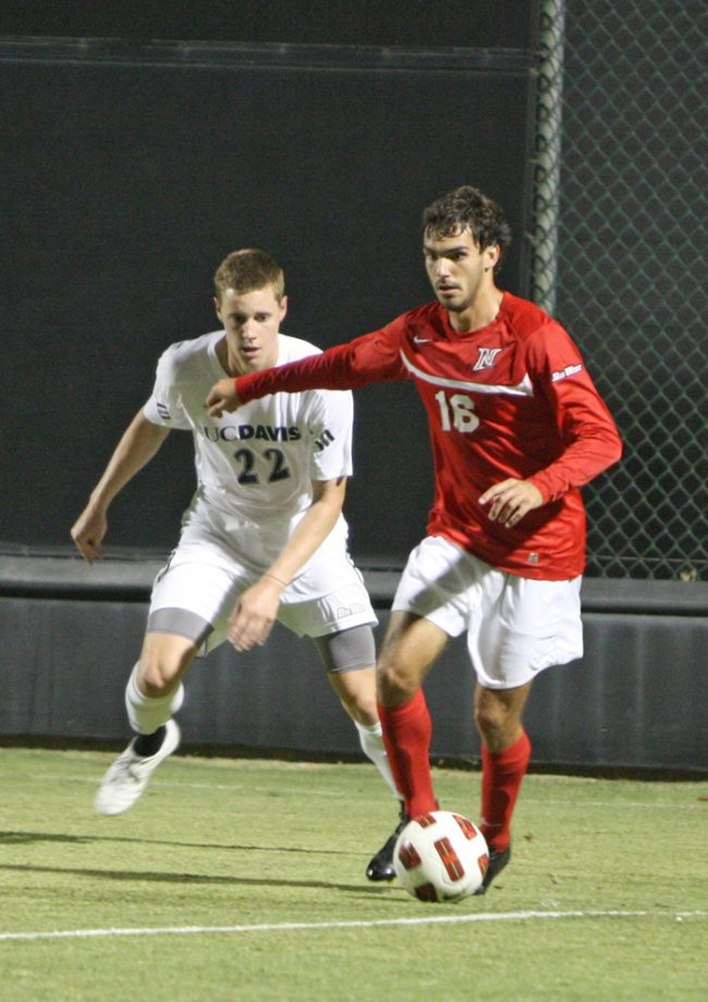 M-Soccer: CSUN beats Cal Poly, back in first place