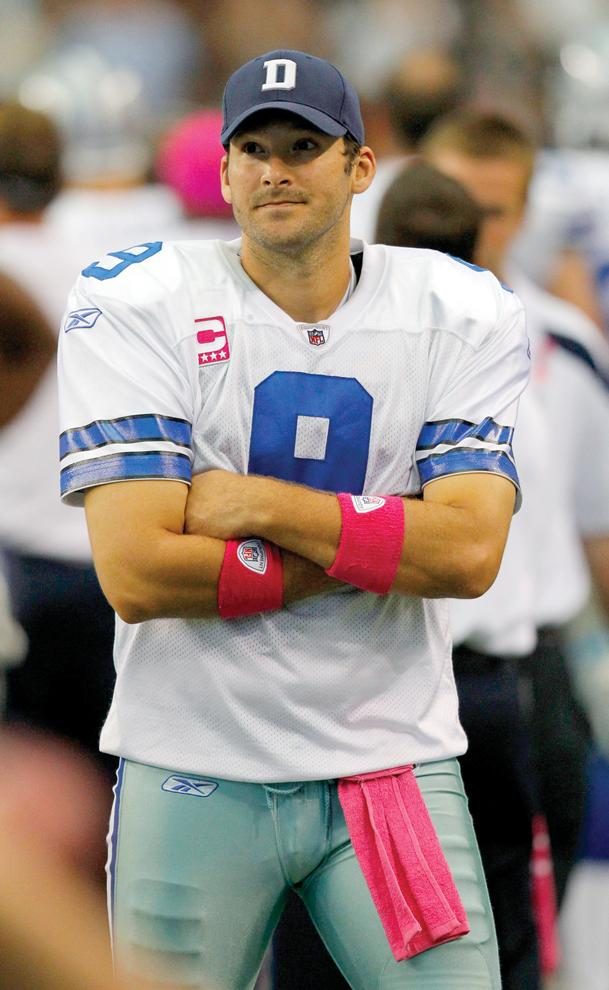Dallas Cowboys quarterback Tony Romo. Courtesy of MCT