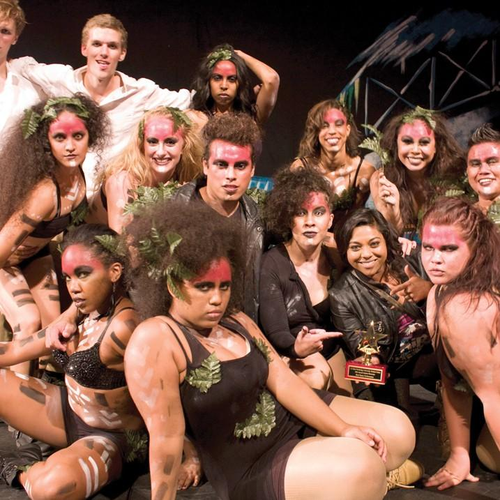 Dance group CSUN Dance won the 10th annual Student Showcase as the overall best dance group on Thursday, October 20. A.J. Circhirillo / Daily Sundial