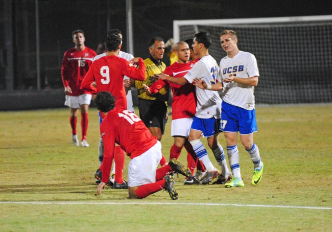 M-Soccer: Matadors eliminated from playoff contention, lose to UCSB in 2OT