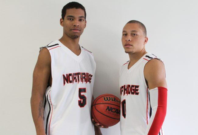 Sophomore guards Aqeel Quinn (left) and Josh Greene look to improve in their second season with the Matadors. Photo Credit: Mariela Molina/ Visual Editor