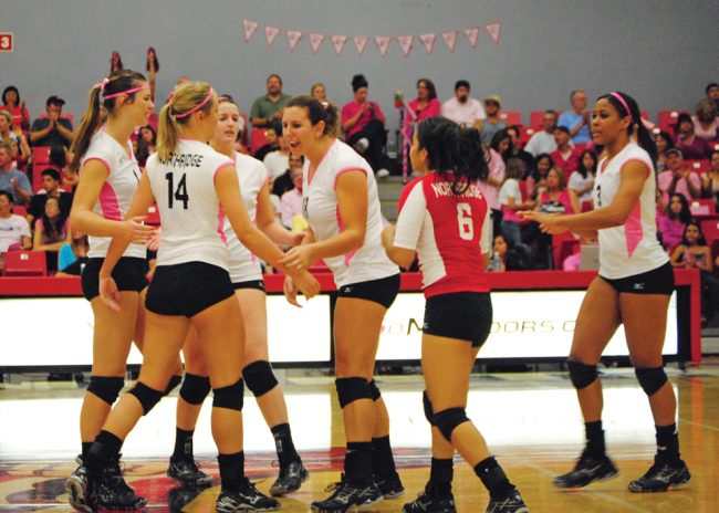 W-Vball: Northridge begins last conference push with home games vs. UC Davis, Pacific