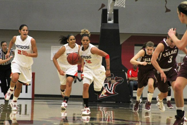W-Bball: Matadors advance to tournament championship game with win over Colgate