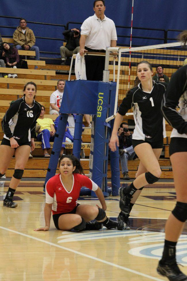 W-Vball: Matadors lose match for second place to Gauchos