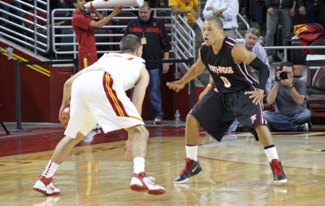 M-Bball: Badly out-rebounded in last outing, CSUN looks forward to bounce-back home game vs. San Diego Christian