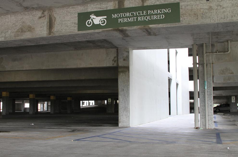 Designated+parking+areas+for+motorcycles+can+be+found+in+the+B3+parking+structure%2C+as+well+as+other+structures+on+campus.+Photo+Credit%3A+Tessie+Navarro+%2F+Visual+Editor
