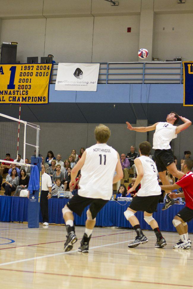 Men's volleyball: Matadors hold off Cal Baptist with dominating fifth set