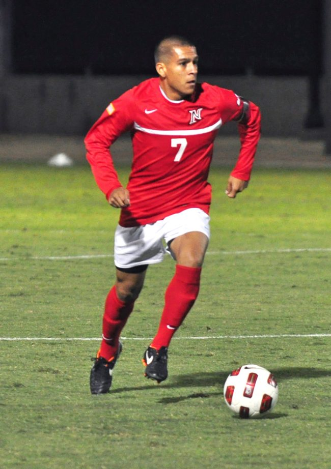 The L.A. Galaxy made Garcia the 38th pick of the MLS Supplemental Draft. Sundial File Photo.