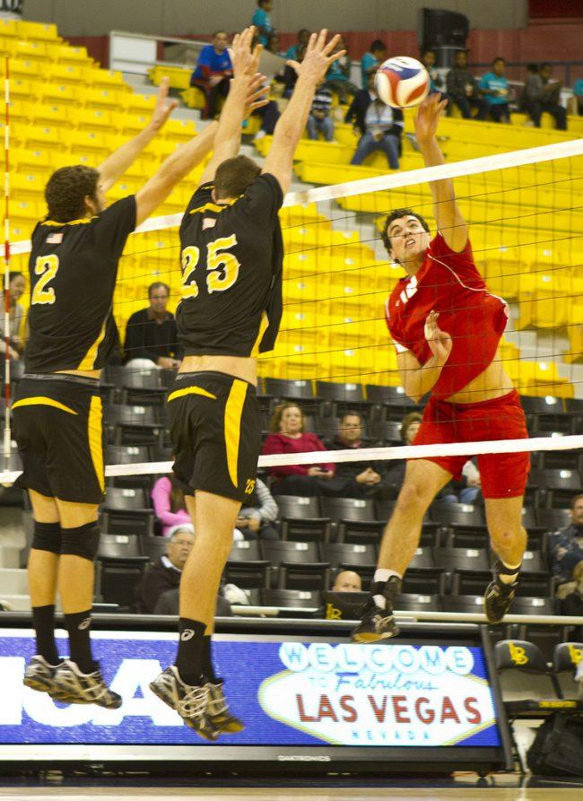 Men's volleyball: CSUN sinks in straight sets at Long Beach
