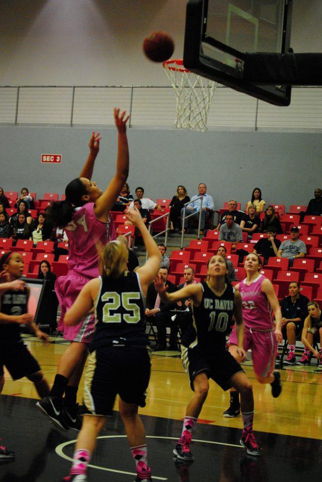 Women's basketball: Poor shooting drops CSUN to second place with a loss at Santa Barbara