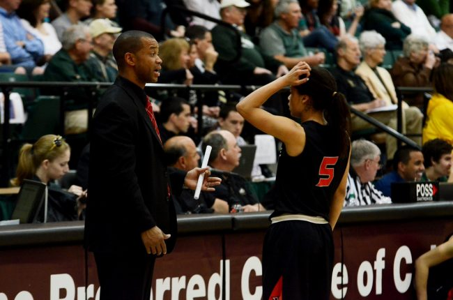 Women's basketball: Shooting woes continue for the Matadors as they fall to Cal Poly