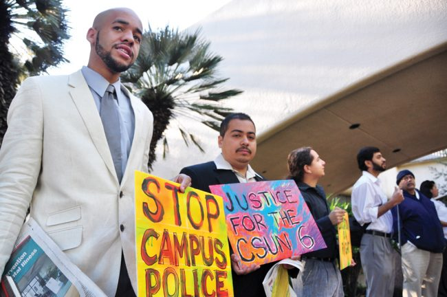 CSUN 6 court charges dropped
